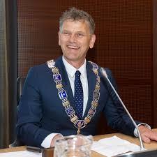 Burgemeester Martijn Smit